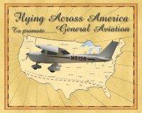 Flying Across America Logo