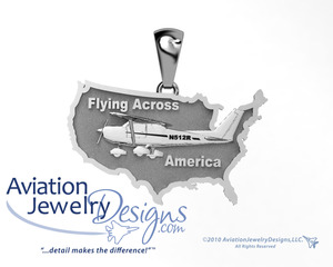 Flying Across America Pendant