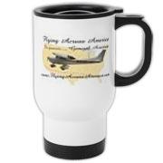 Flying Across America Travel Mug
