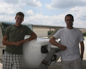 Flying Across America - Crew and Aircraft