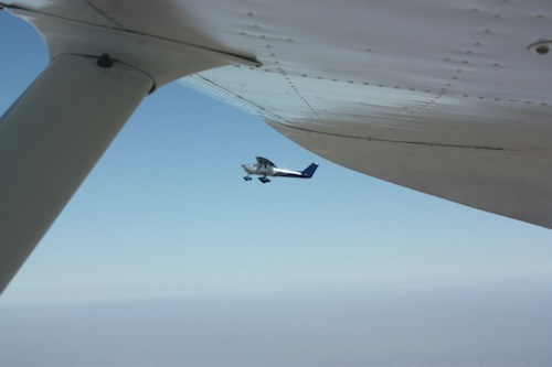 Flight of two Cessna 150