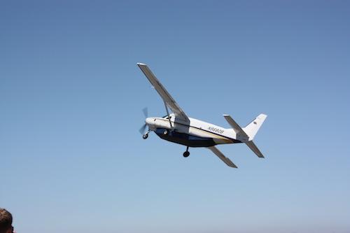 Cessna Caravan departing Catalina Island
