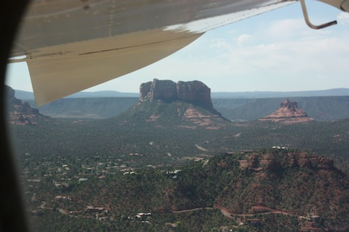 Departing from Sedona
